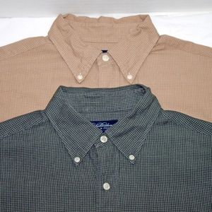 Brooks Brothers Woven In Italy Long Sleeve Button